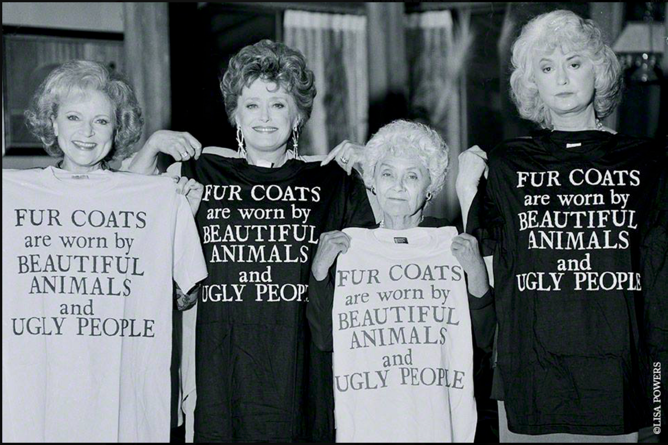 """Golden Girls"" for PETA"