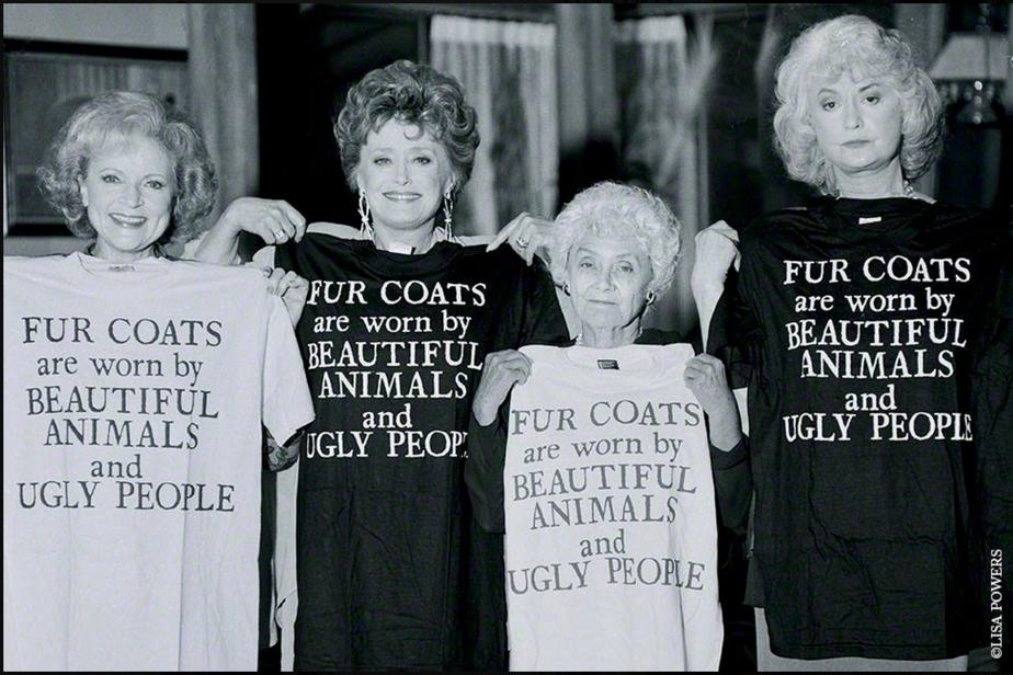 """""""Golden Girls"""" for PETA"""