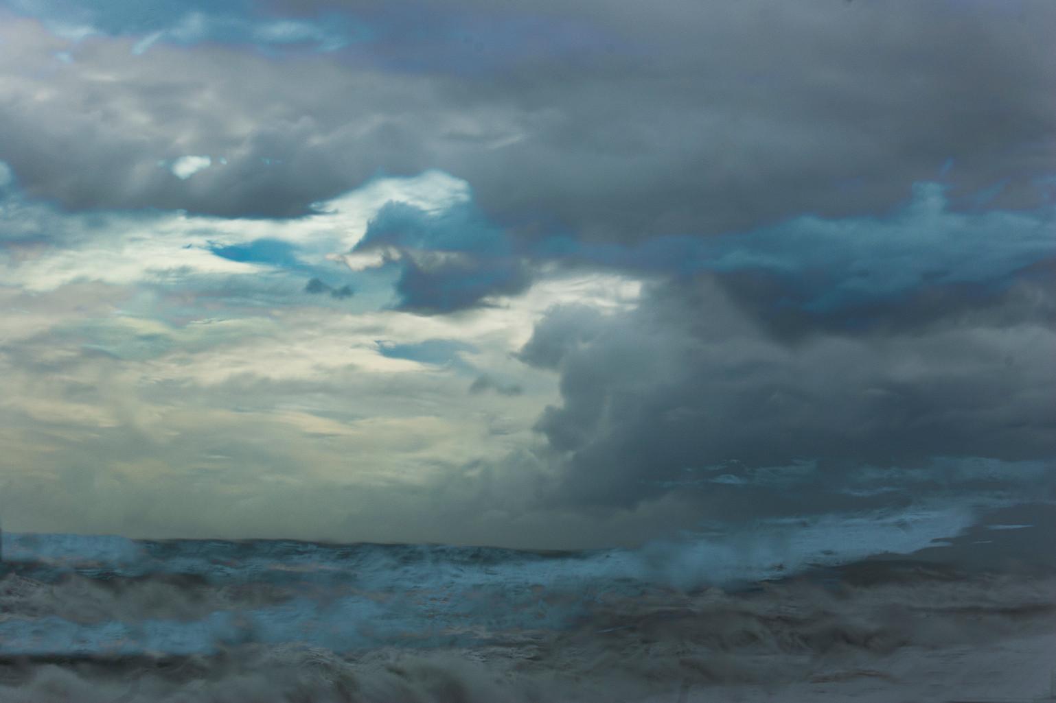 Storm on West Coast, New Zealand