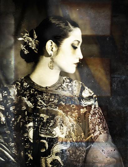 Empress in Profile