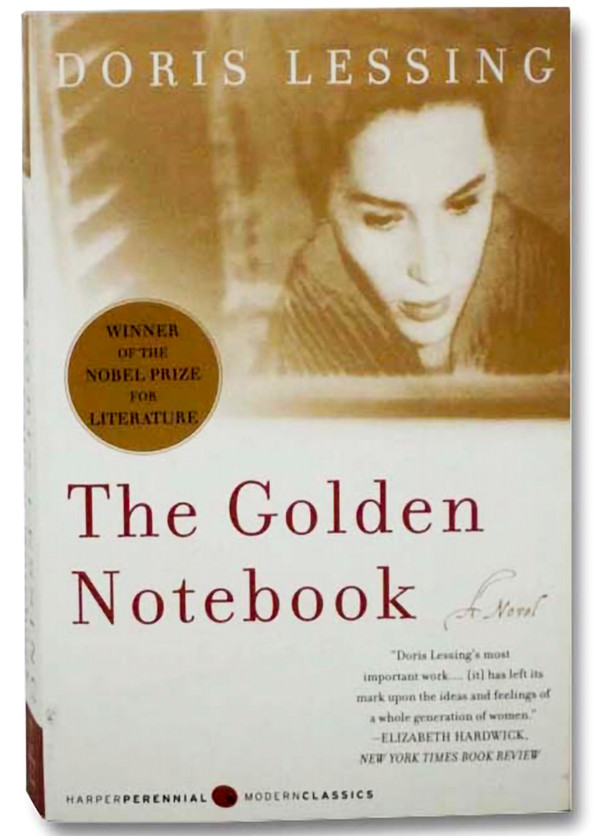 Golden Notebook, book cover