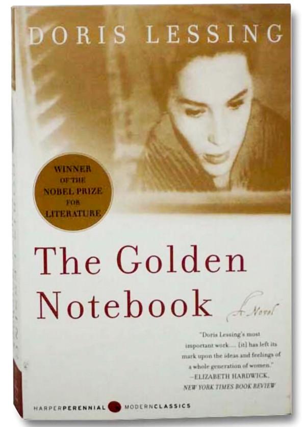 Golden Notebook, book cover