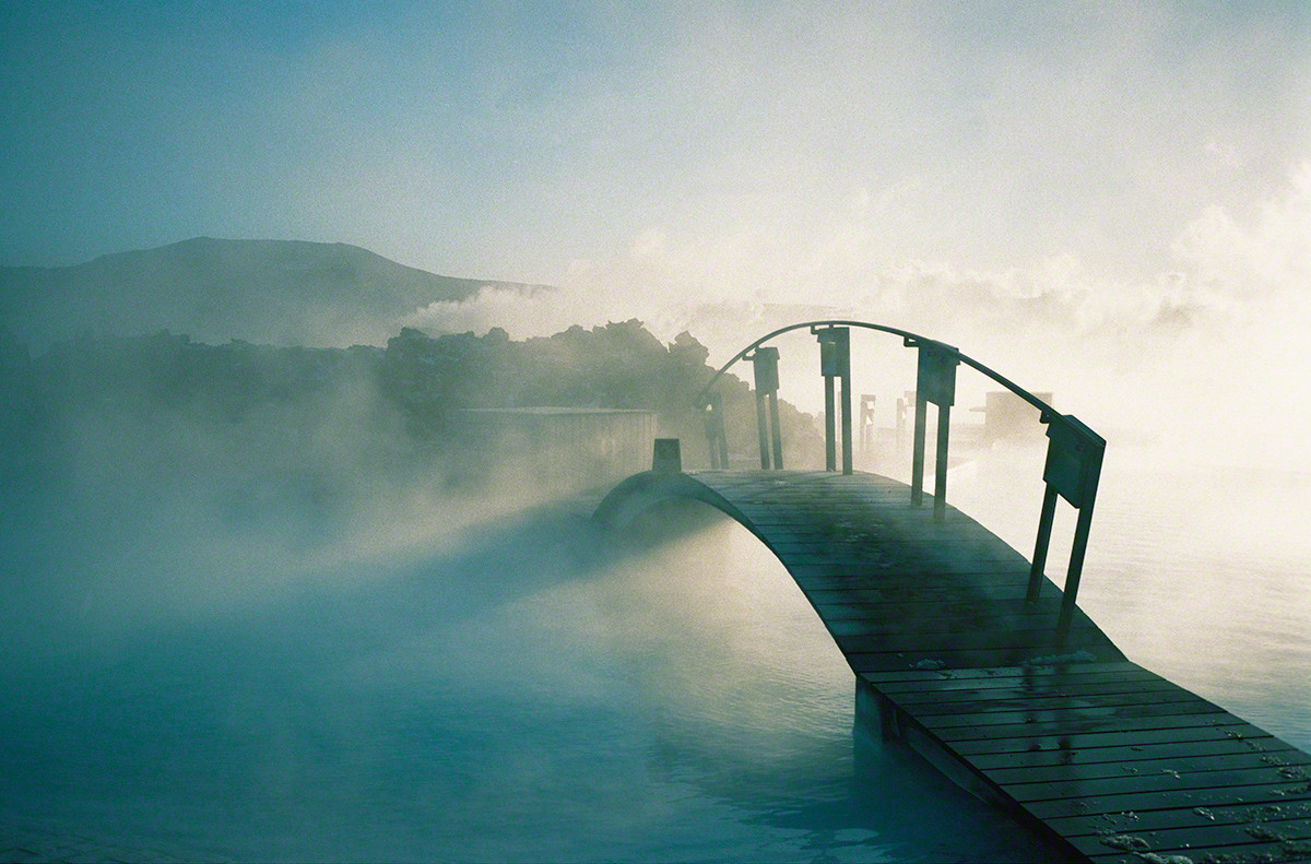 Bridge Early Morning, Iceland