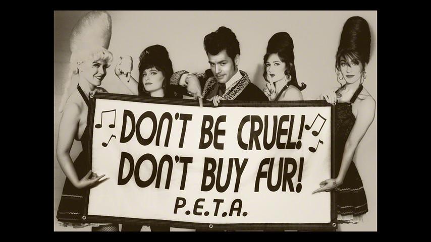 PETA anti-fur promotion