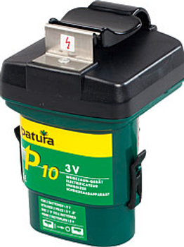 Patura P10 Energiser with Batteries (3v)