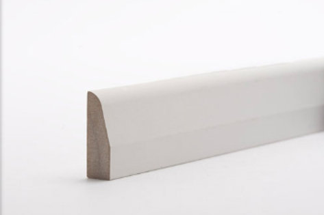 15 x 44mm MDF Architrave Chamfered & Rounded