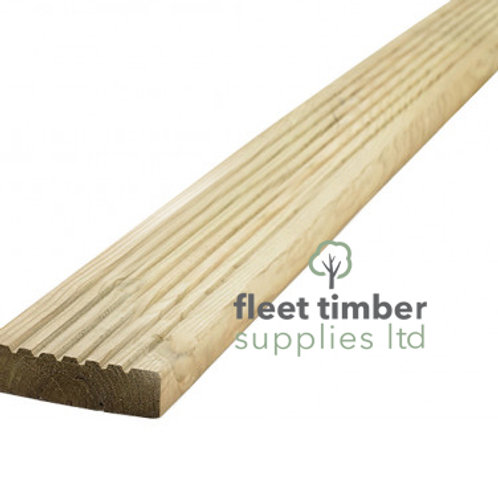 Grooved Timber Decking Boards