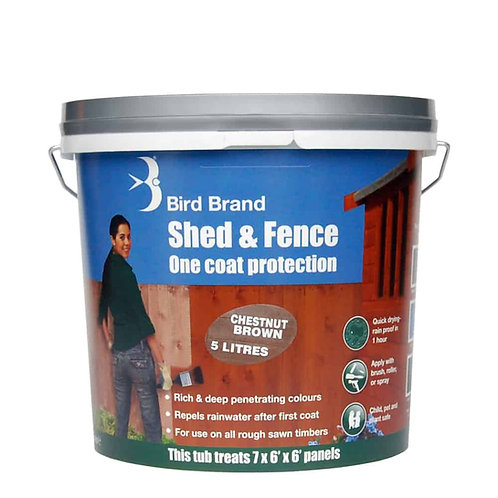 5 Litre Shed and Fence One Coat