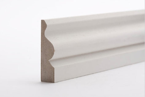 18 x 69mm MDF Architrave Ogee