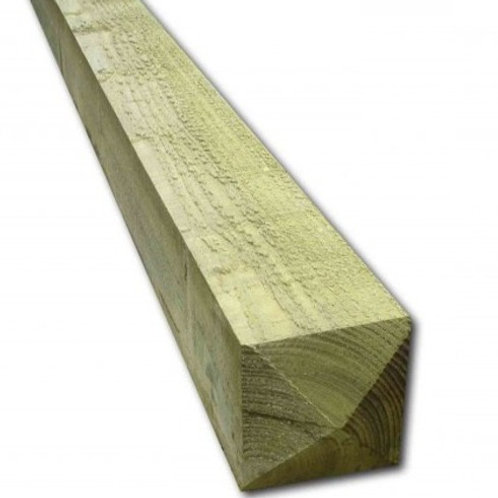 175 x 175mm 4 Way Weathered Post 2.4mtr