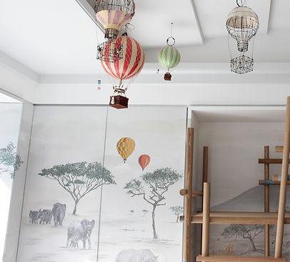 SAFARI WALL PAINTING _ MURAL ART HONGKON