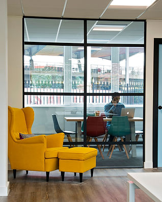Furniture sourcing by Standing space office and commercial interior designers in Warrington