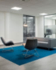 Office fit out and interior design by Standing Space interior designers and architects in Warrington