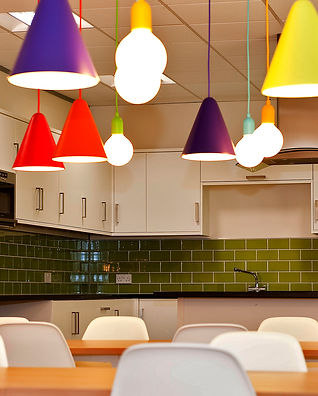 kitchen in commercial space by Standing Space in Warrington - interior designers & architects