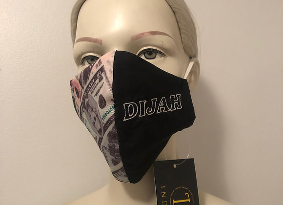 Half Money Mask