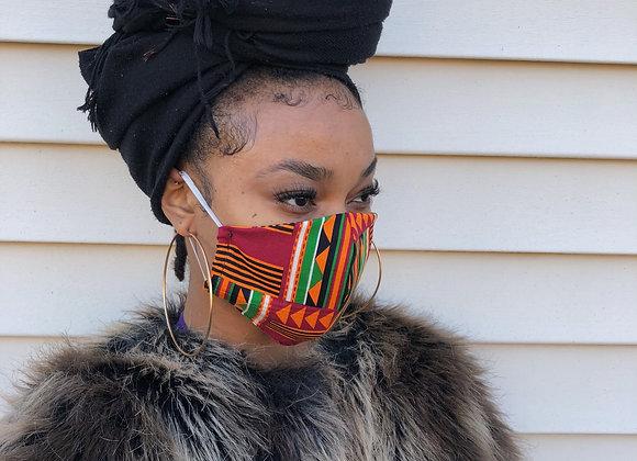 Afro Beat Mask