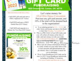 Catch the Fun in 2022 Gift Card Fund Raiser