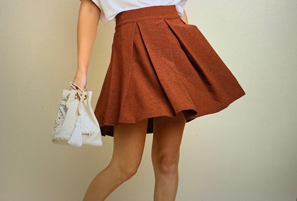 Terra-cotta Skirt