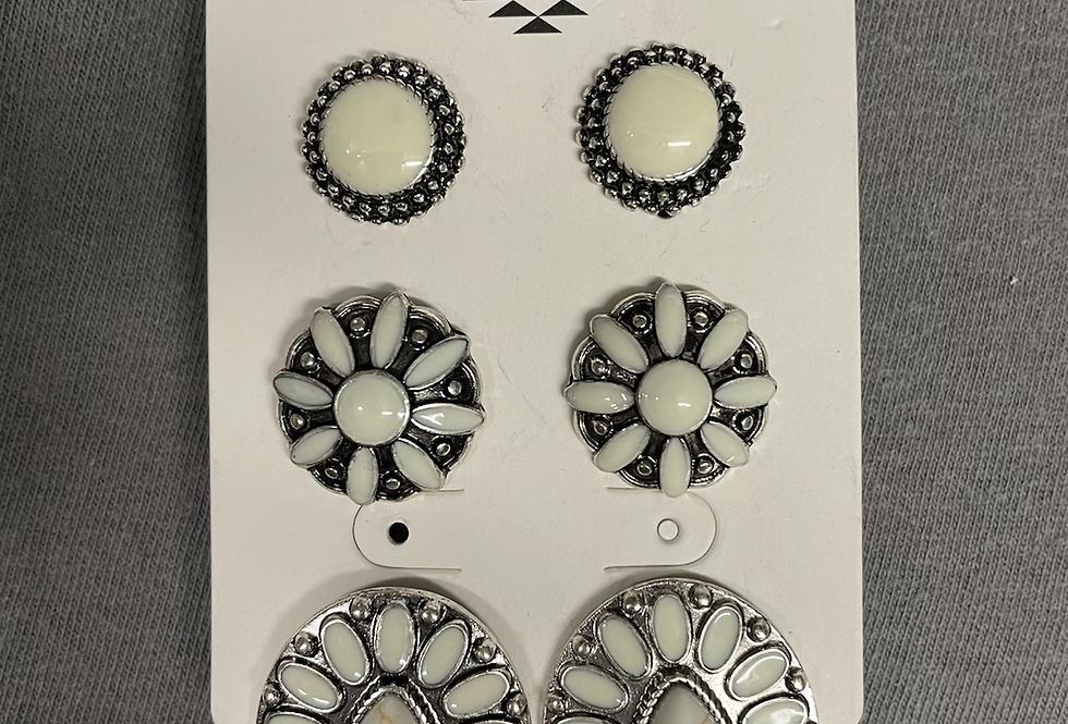 Western Ivory Earrings