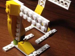 Собираем шагающего робота из LegoWeDo