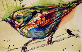 Рассказ по картинке или Птица по имени Изобара