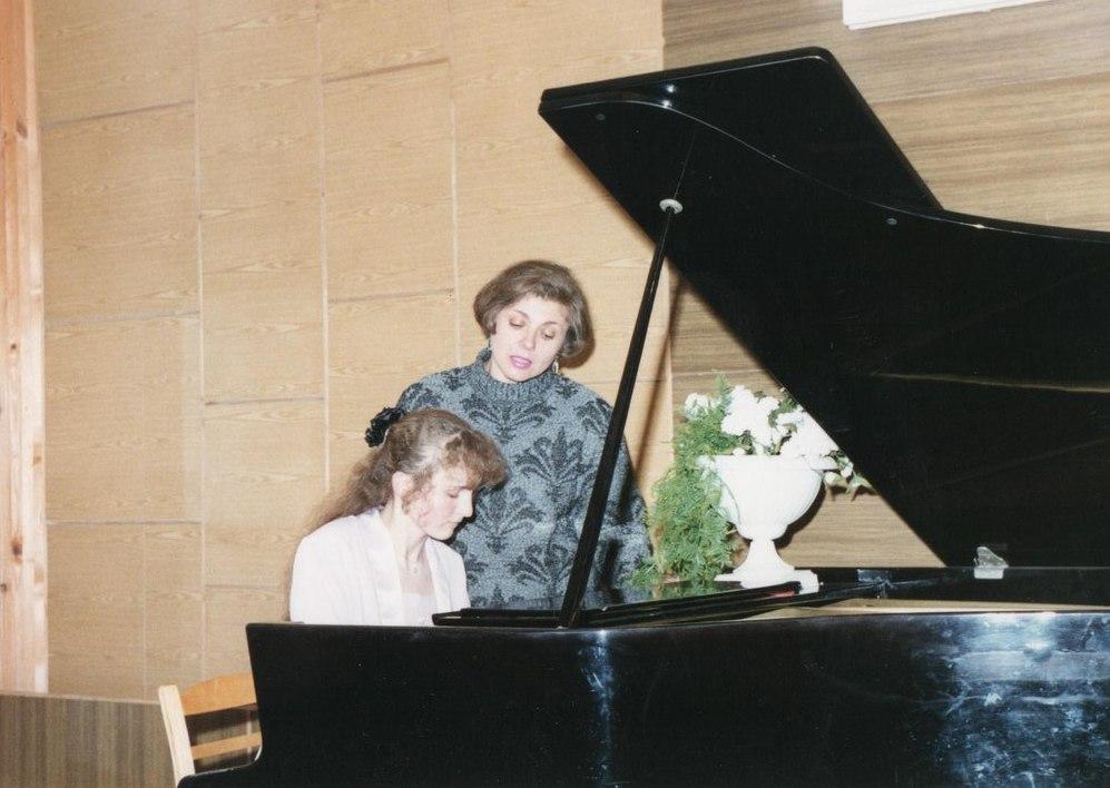 Я и Нина Ивановна
