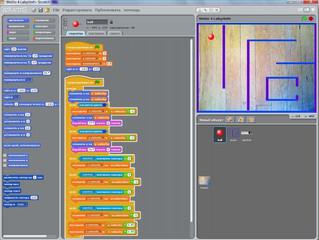 Lego WeDo и Scratch. Датчик наклона