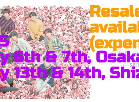 BTS Japan tour 2019 resale tickets available now!