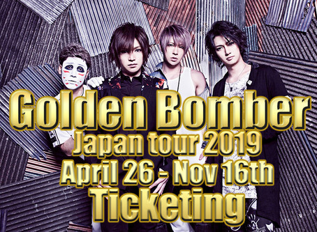 GOLDEN BOMBER Tickets - Tour 2019