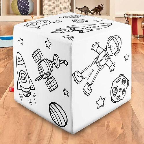Tischwürfel – Astronaut