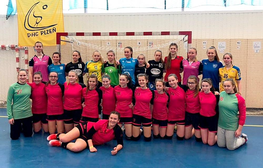 DHC Pilsen gegen C-Jugend des HC Leipzig