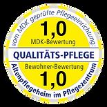 prüfsiegel altenpflegeheim pflegezentrum schkeuditz