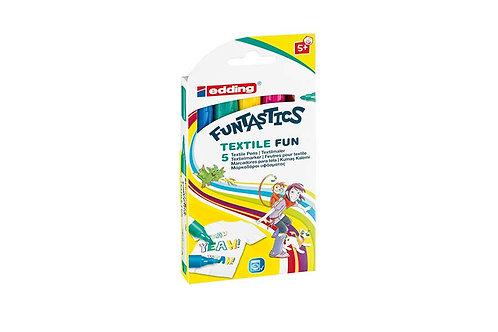 Textilstifte 5-er Set
