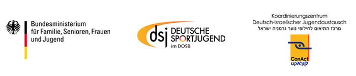 BMFSFJ Logo, DSJ Logo, ConAct Logo