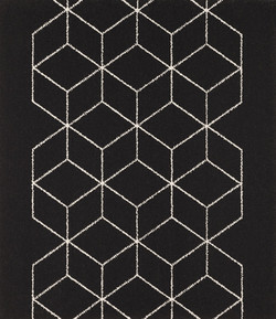 Büchi Boden Schweiz_Lano Treppenläufer-Avenue II Color 59104-588 Black