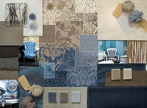Buechi_Boden_Schweiz_Druckteppich_bedruckte Fliesen_Design_HTW Design Carpet_Vintage_Collage_Beige_Jeans