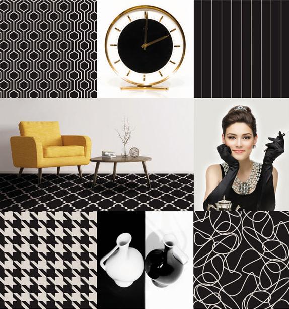 Schwarz-Weiss_HTW_Design_Carpet_Büchi Boden GmbH_Schweiz_Druckteppich