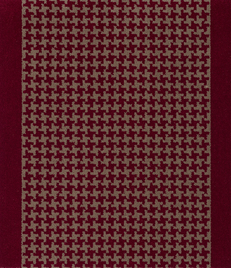 Büchi Boden Schweiz_Lano Treppenläufer-Avenue II Color 59108-596 Red