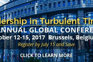 ILA - International Leadership Association 19th Annual Global conference in Brussels