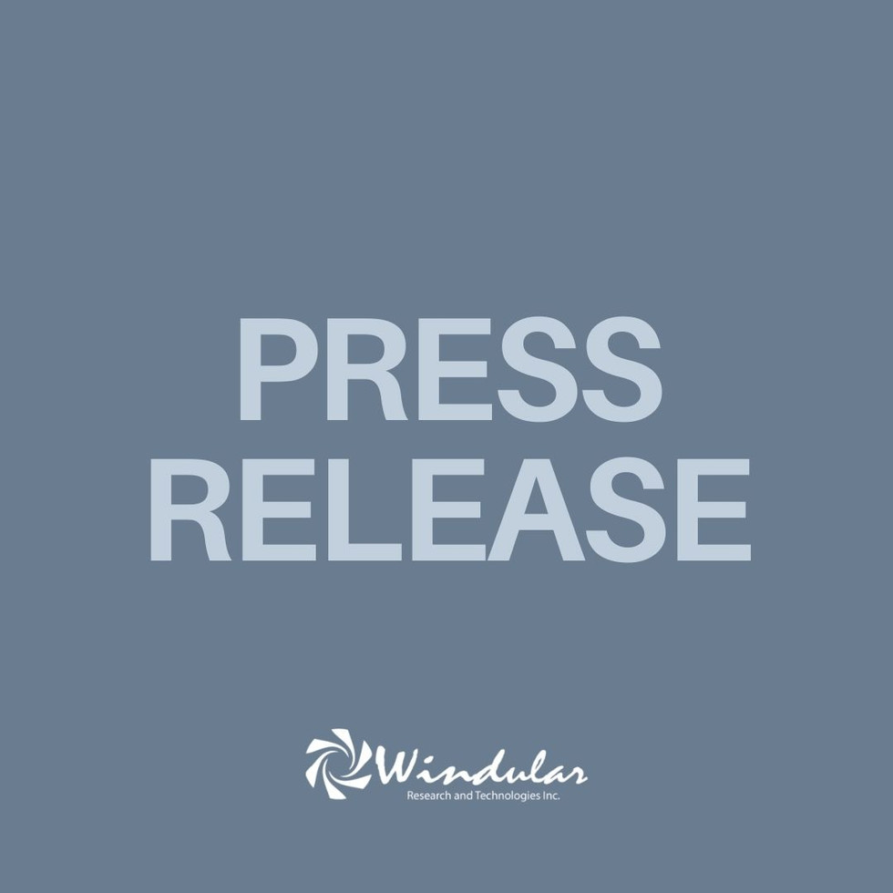 Windular Research and Technologies Inc., Launches in Ontario, Canada with Innovative Renewable Power