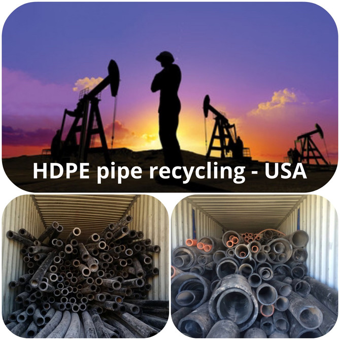 Permian Basin - poly pipe recycling