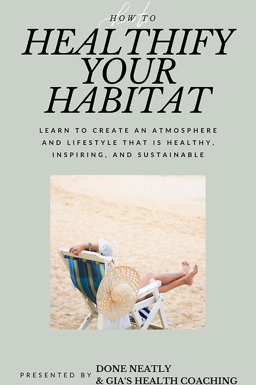 Healthify Your Habitat E-book