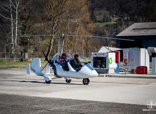 Vol autogire Belledonne