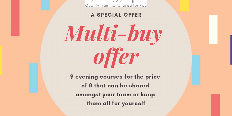 Multi-Buy Offer: Evening CPD
