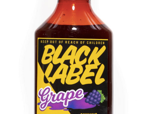"""Black Label """"Grape Syrup"""" 1000mg; 1 for 36"""