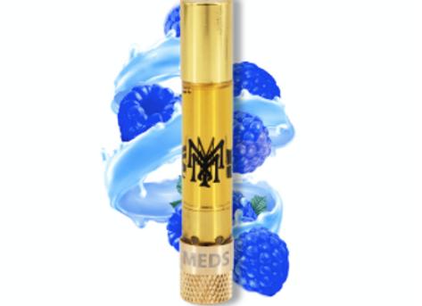 """Muha Meds """"Blue Raspberry"""" hybrid; 1g for 35"""