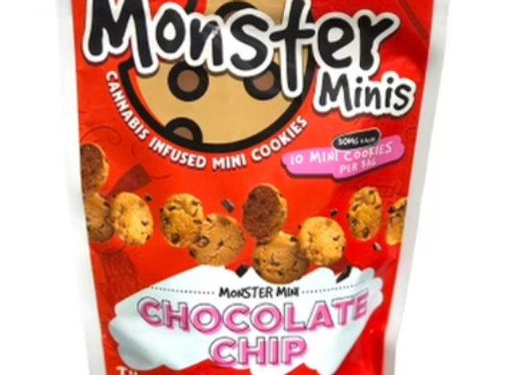 """Monster Minis """"Chocolate Chip"""" 300mg; 1 for 15"""