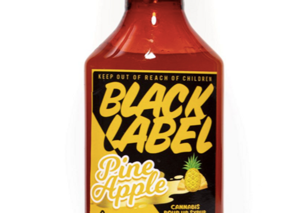"""Black Label """"Pineapple Syrup"""" 1000mg; 1 for 36"""