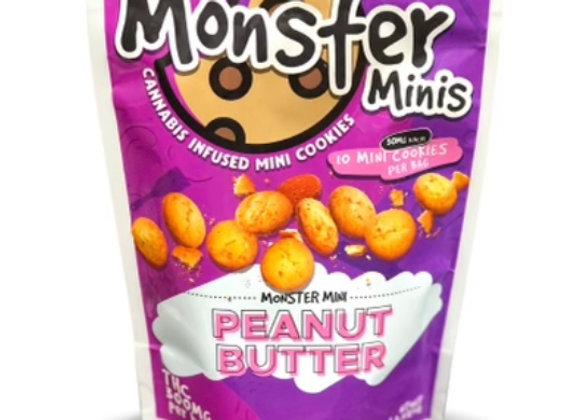 """Monster Minis """"Peanut Butter"""" 300mg; 1 for 15"""