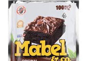 """Mabel & Co """"Original Brownie"""" 100mg; 1 for 10"""